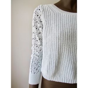 LC Mint Cropped Sweater